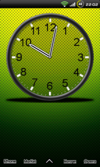 Custom Clock Widget Beta для Android