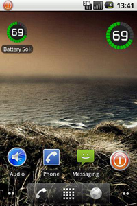 Battery Solo Widget для Android