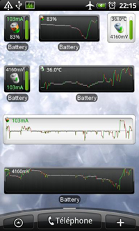 Battery Monitor Widget для Android